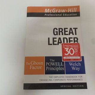 Great leader :  the employee handbook for enhancing corporate performance /  [compiled by] McGraw-Hill Education.
