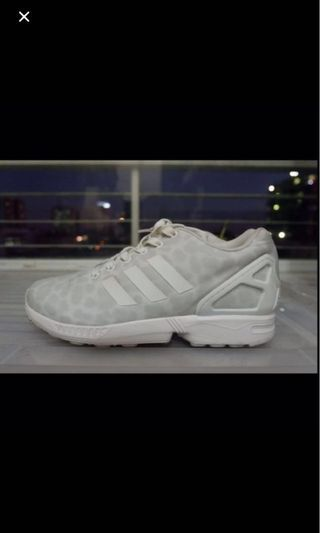 new arrivals 968b1 6fd44 Adidas ZX Flux White Cheetah