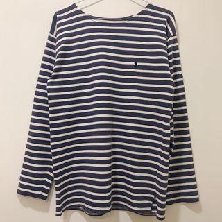 古著POLO法國海軍 條紋船領杉 / Polo Ralph Lauren Vintage French Sailor Breton Stripe Shirt
