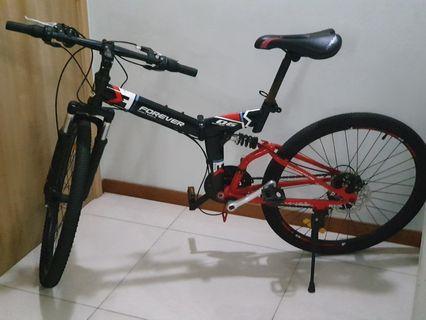 Forever Folding Mountain Bike
