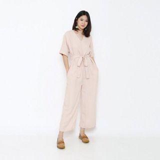 Zara peach jumpsuit original