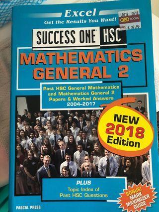 Maths general 2 success one hsc