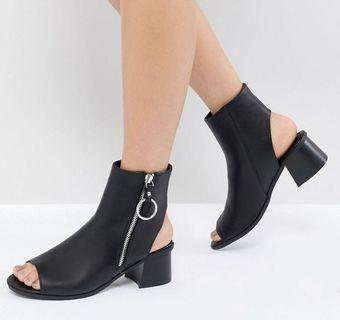 BRAND NEW ⭐️ ASOS peep toes boots