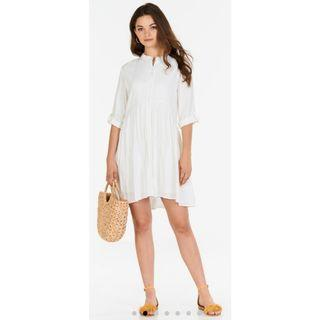 The Closet Lover Loise Dress in White