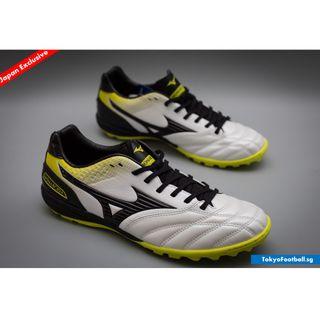 newest 7ecbe 5cef3 Mizuno Monarcida TF Pro K leather turf trainer futsal astro soccer football  boots shoes