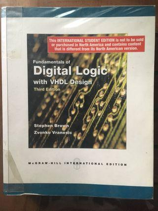 🚚 Fundamentals of Digital Logic with VHDL Design