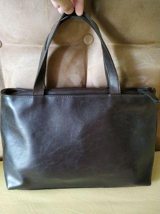 Vintage leather bag #cintaibumi