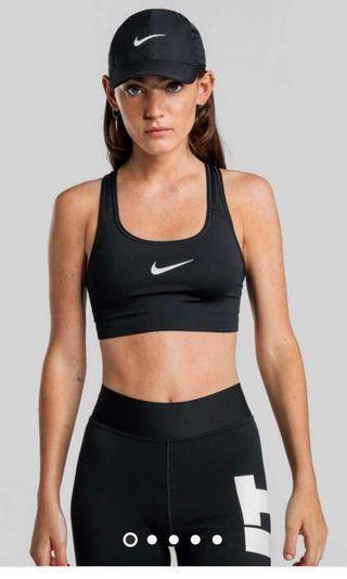 Nike black sport bra xs