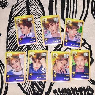 NCT 127 Chain Card