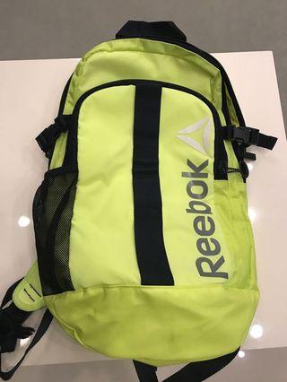 Reebok 背包 螢光超亮版 美國購入正品 獨一無二