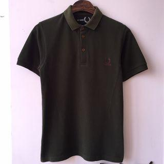 Rare FRED PERRY x RAF SIMONS Polo not rrl converse levis lee 501 red wing cwc omega