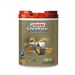 CASTROL VECTON LONG DRAIN 10W-40 E6 20 Litres 20 公升