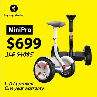 🤩 Segway-Ninebot MiniPro 🤩 Self-Balancing Hoverboard | Official Distributor ❗ at only $699 ❗