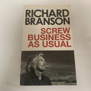 Screw Business as Usual Book by Richard Branson