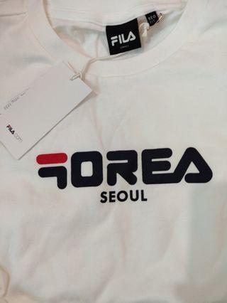 🚚 100% AUTHENTIC KOREA FILA SHIRT