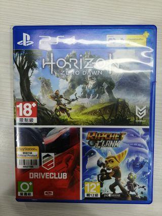 Kaset PS4 - Horizon Zero Dawn + Drive Club (PAKET)