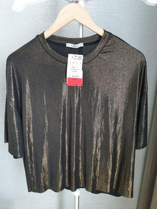 Bronze top Pull and Bear