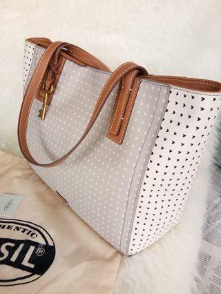 FOSSIL.TOTE BAG