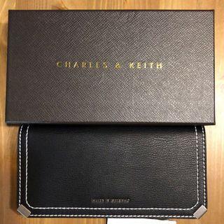 Charles&Keith黑色長夾