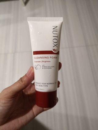 Nutox facial cleanser