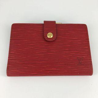 LV Wallet Epi Red Louis Vuitton 中長銀包