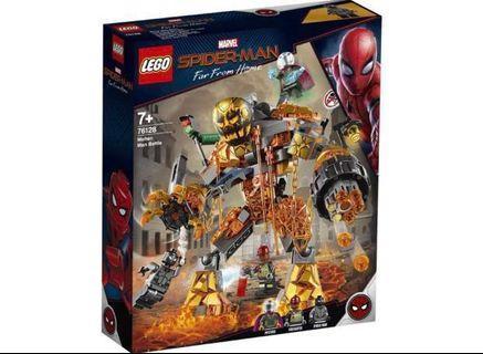 Lego 76128 Molten man battle  Spider-Man