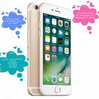 Kredit iphone 6s 32 gb new