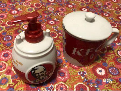 KFC Soap bottle - Porcelain Cup