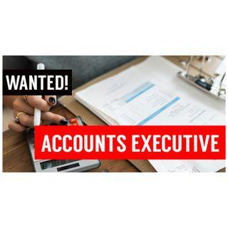 Wanted! Accounts Executive