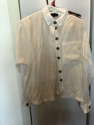 Topshop White Shirt