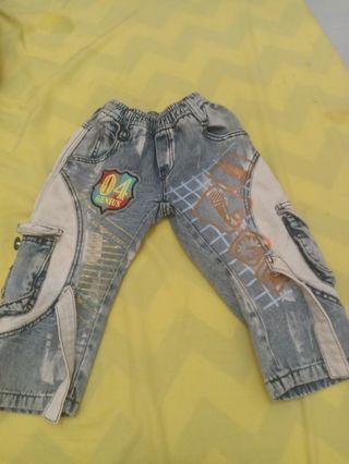 Celana jeans karet
