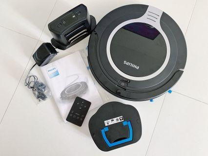 PHILIPS SmartPro Compact Robot Vacuum Cleaner FC8710/01