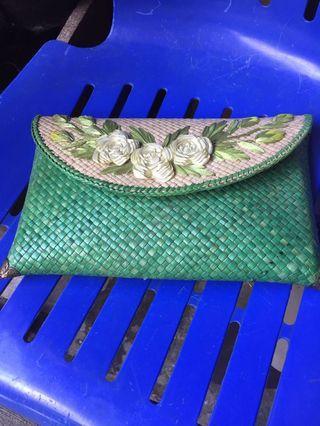 Clutch bag Anyaman