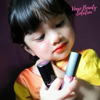 Vcare blusher stick rm49/liptint code orange rm19