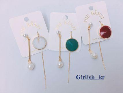 韓國耳環(雲石紋)