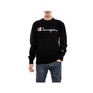 CREWNECK CHAMPION FULL BLCAK ORIGINAL