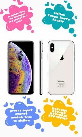 Kredit iPhone X 64 Gb silver