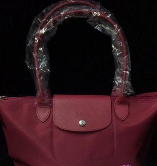 Longchamp厚料袋