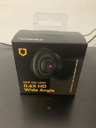 🚚 [犀牛盾] 專用擴充鏡頭-0.6X HD 高畫質廣角鏡頭 附贈 iphone7+/iphone8+ 鏡頭環
