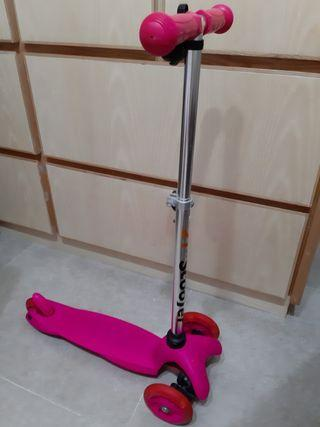 粉紅色小童 Scooter