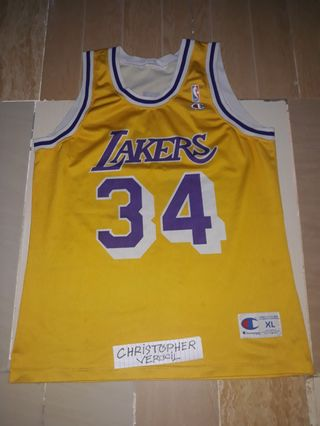 0be966673 Lakers jersey by champion