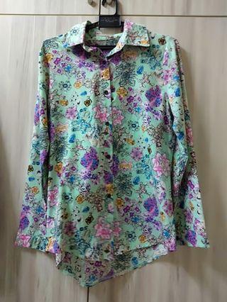 Floral Shirt Top
