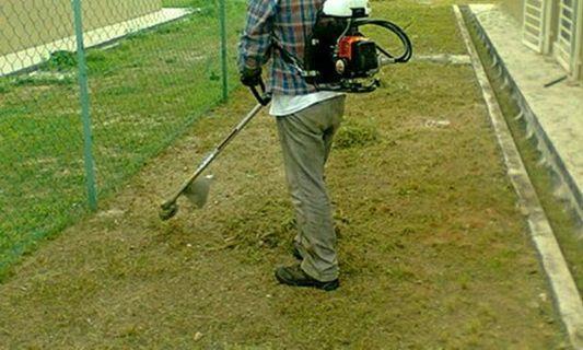 Pekhidmatan Memotong Rumput/Cuci kawasan rumah atau kebun