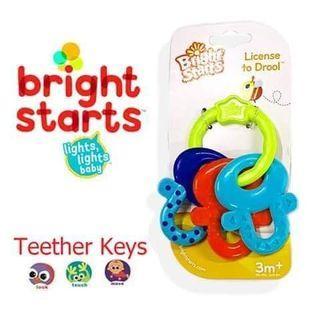 Bright Starts Baby Teether Keys