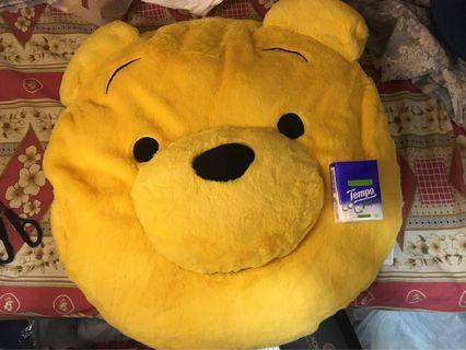 小熊維尼 Winnie the Pooh 超大cushion 枕 墊 毛公仔 全新正版連牌 生日禮物  gift