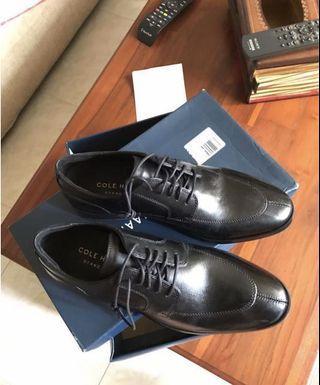 BNWB Cole Haan Mens Black Dress Shoe Size 8US
