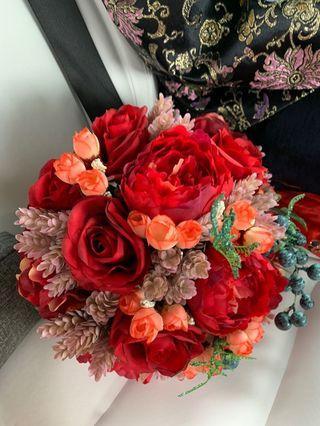 🈹中式結婚花球