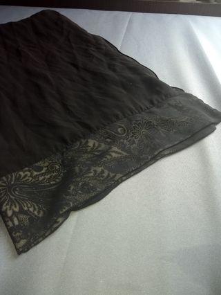 Black Abaya Sheila / Scarf