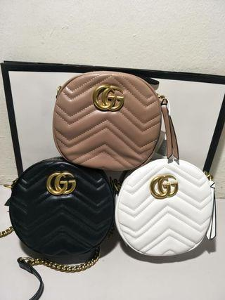 Gucci GG Marmont Round Sling Bag