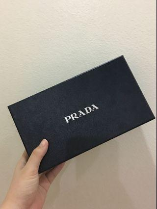 Authentic Prada Box